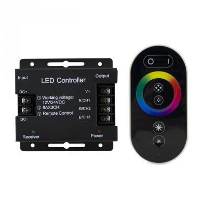 все цены на Контроллер с пультом ДУ Gauss для светодиодной ленты RGB 201113288 онлайн