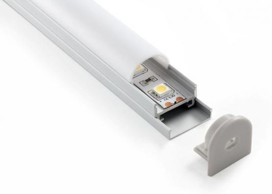 Потолочный алюминиевый профиль Elektrostandard для LED ленты oval LL-2-ALP005 4690389104428 elektrostandard аксессуары для светодиодной ленты elektrostandard переходник для ленты угловой 220v 3528 4690389084676