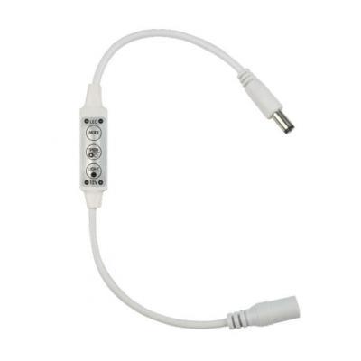 Контроллер для светодиодных одноцветных лент 12В (UL-00002278) Volpe ULC-Q510 Dim контроллер для управления яркостью одноцветных светодиодов 05947 ulc r22 dim white