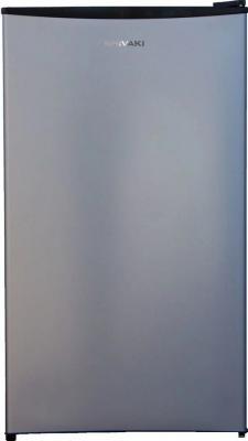 Холодильник Shivaki SDR-084S серебристый (однокамерный) однокамерный холодильник shivaki shrf 55chs