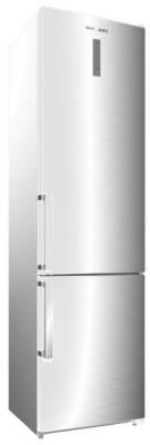 Холодильник SHIVAKI BMR-2013DNFW белый серебристый холодильник shivaki bmr 2013dnfw двухкамерный белый