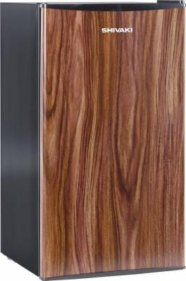 Холодильник Shivaki SDR-084T темное дерево (однокамерный) холодильник shivaki shrf 56chs однокамерный серебристый