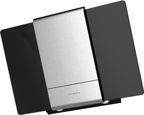 Вытяжка каминная Krona Talli 600 3P черный/нержавеющая сталь вытяжка krona talli 600 inox black glass 3p