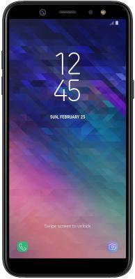 Фото - Смартфон Samsung Galaxy A6 2018 32 Гб черный (SM-A600FZKNSER) samsung galaxy tab e sm t561 black