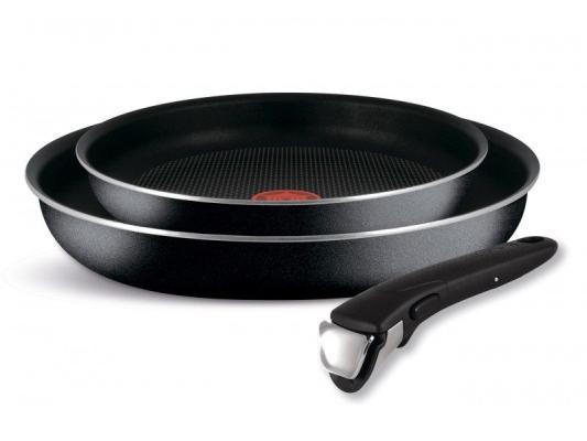 Набор сковородок Tefal Ingenio Black 04181820 3 предмета (9100027686) набор tefal jamie oliver e874s574