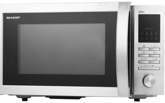 Микроволновая Печь Sharp R-8496ST 25л. 900Вт серебристый sharp sjxp59pgsl
