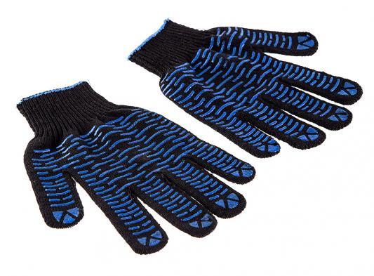 Перчатки Hammer Flex 230-018 ХБ с ПВХ покрытием, 5 нитей, черные фильтр hammer 233 018