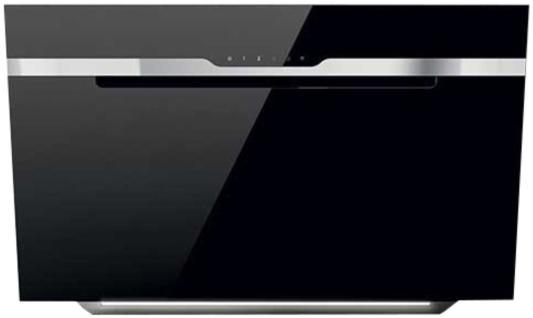 Вытяжки ELICA/ Пристенная наклонная, 60 см, 1200 куб.м., сенсорное управление, черное стекло to4rooms вешалка пристенная james craik