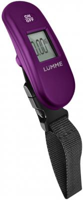 Весы багажные Lumme LU-1330 фиолетовый весы кухонные lumme lu 1326 фиолетовый