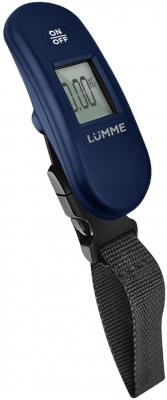 LUMME LU-1330 Электронный безмен синий безмен lumme lu 1326