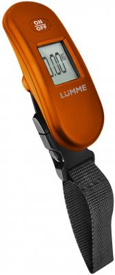 LUMME LU-1330 Электронный безмен оранжевый lumme lu 1330 электронный безмен синий