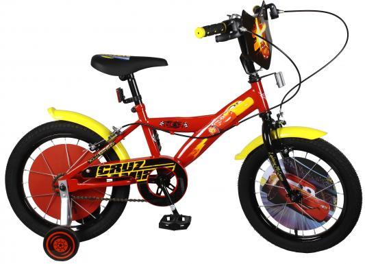 Велосипед Navigator DISNEY Тачки, красно-желтый ВН16123 велосипед двухколесный navigator superman 16