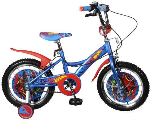 Велосипед Navigator Hot Wheels сине-красный ВН16111Н велосипед навигатор patriot цвет зеленый navigator