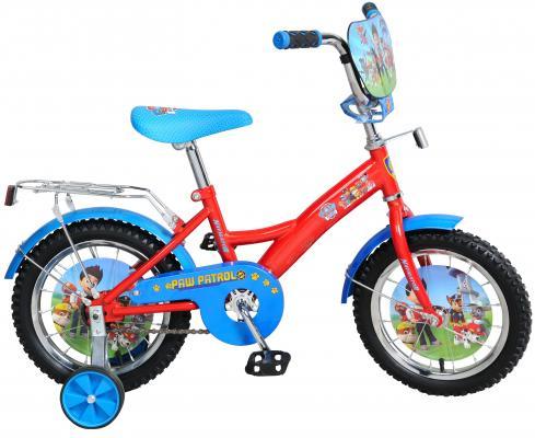 Велосипед Navigator Щенячий патруль красно-голубой ВН14161Н