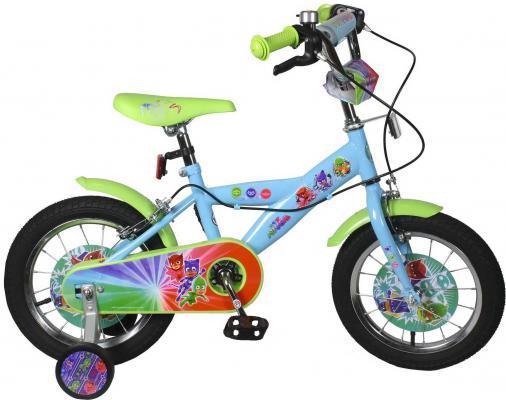 Велосипед Navigator Герои в Масках голубой-зеленый ВН14171 navigator navigator детский велосипед герои в масках 14 дюймов