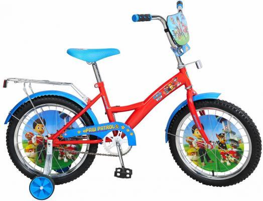 """Велосипед Navigator Щенячий патруль 18"""", голубой-красный ВН18082Н"""