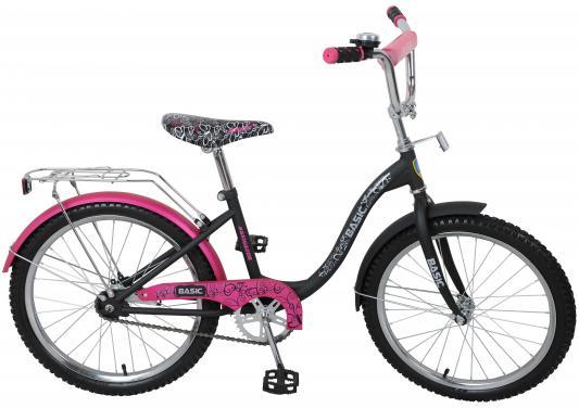 Велосипед Navigator Basic розово-черный ВН20053Н велосипед навигатор patriot цвет зеленый navigator