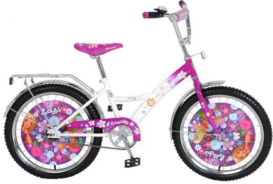 Велосипед Navigator Lady бело-фиолетовый ВН20073Н