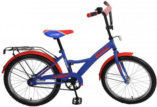 Велосипед Navigator Basic сине-красный велосипед навигатор patriot цвет зеленый navigator