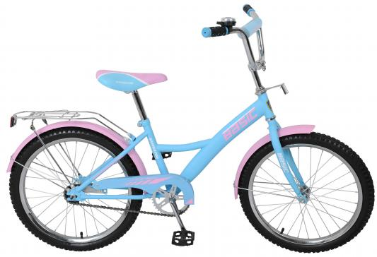 Велосипед Navigator Basic голубой-розовый ВН20154Н велосипед навигатор patriot цвет зеленый navigator