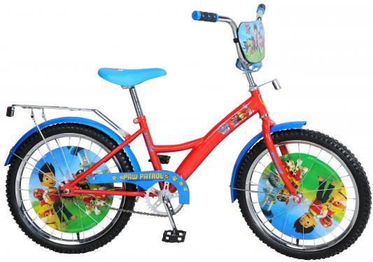 """Велосипед Navigator Щенячий патруль 20"""" красно-синий ВН20176"""