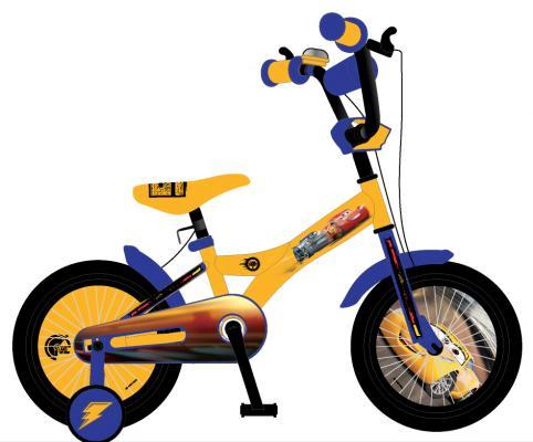 Велосипед Navigator Тачки желто-синий ВН20177