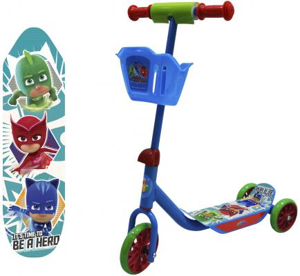 Самокат 1TOY PJ Masks синий Т11700