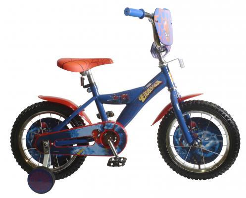 Велосипед MARVEL Человек Паук синий