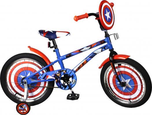 Велосипед MARVEL Капитан Америка сине-красный ВН18093