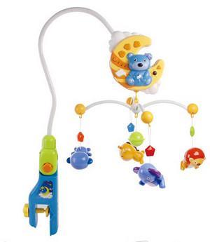 Интерактивная игрушка Everflo Веселый медвежонок с рождения в ассортименте интерактивная игрушка furby connect яркие цвета в ассортименте