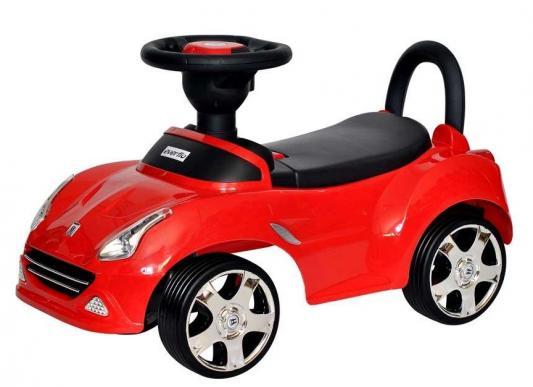 Фото - Интерактивная игрушка Everflo Каталка Машинка 613 от 1 года красный коляска прогулочная everflo safari grey e 230 luxe