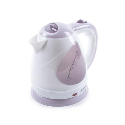 лучшая цена Чайник ENDEVER Skyline KR-348 2100 Вт белый розовый 1.5 л пластик 80174