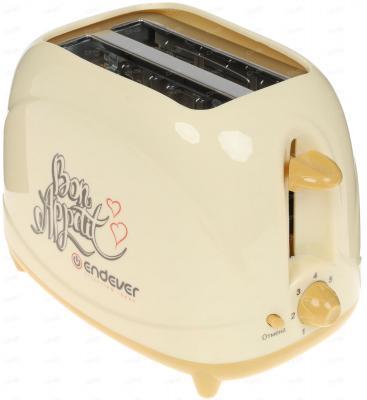 Тостер Endever Skyline ST-106, бежевый, 850Вт, 7 режимов