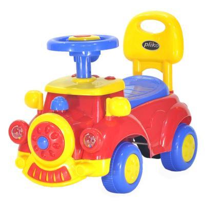Детская Каталка Машинка EC-656/556 красный каталка chilok bo машинка бентли красный 326