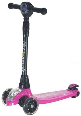 Купить Самокат Lionmen Speed XLM-L-004 120/110 мм розовый, Двухколесные самокаты для детей