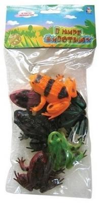 Набор игрушек 1toy «В мире животных» цена