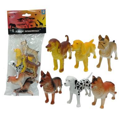 Купить Набор игрушек 1toy В мире животных 10 см Т50536, разноцветный, Игрушки для купания