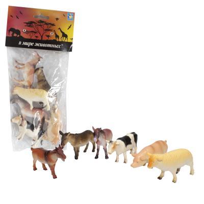 Набор игрушек 1toy В мире животных Т50553 набор игрушек для животных hagen catit