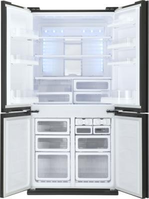 Холодильник Side by Side Sharp SJ-FJ97VBK черный холодильник side by side iomabe ore 24 vghfnm черный