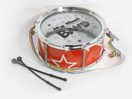 Купить Барабан Тилибом My First Band Т80557, красный, Детские музыкальные инструменты