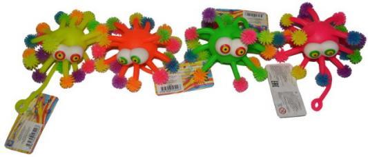 1toy Нью-Ёжики, осьминог с выпученными глазами, 12 см, со светом, д/б цена