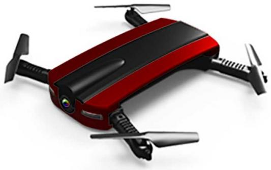 Квадрокоптер 1 toy Gyro-Pocket бордовый 13 см Т10810 1 toy т58533