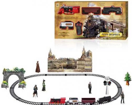 Железная дорога 1toy Ретро экспресс с 6 лет Т10578 железная дорога 1toy ретро экспресс 16 дет