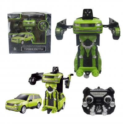 Робот-трансформер 1Toy Трансботы - Джип на радиоуправлении Т10866 конструкторы 1toy конструктор формула 1toy гоночный джип 90 деталей