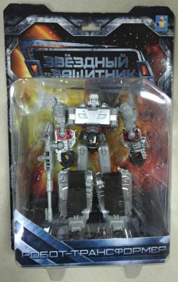 1toy Звёздный защитник, робот-трансформер, собирается в танк, блистер, 1toy робот трансформер звездный защитник самолет