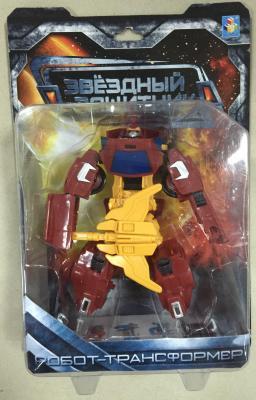 1toy Звёздный защитник, робот-трансформер, собирается в машину, блистер, 1toy робот трансформер звездный защитник самолет
