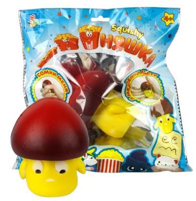 Антистрессовая игрушка грибок 1toy игрушка-антистресс мммняшка, гриб полимер цена