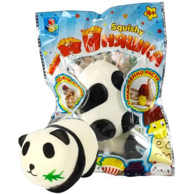 Антистрессовая игрушка панда 1toy игрушка-антистресс мммняшка, панда полимер цена