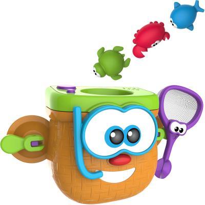 Интерактивная игрушка 1Toy Kidz Delight - Корзинка рыбака от 3 лет Т10501 kd group игрушка для ванны корзинка рыбака