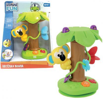 Интерактивная игрушка 1Toy Веселая коала от 6 месяцев зелёный Т10508